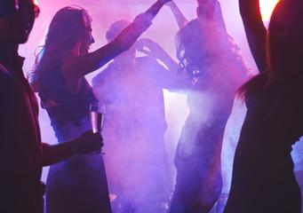 Night dancing