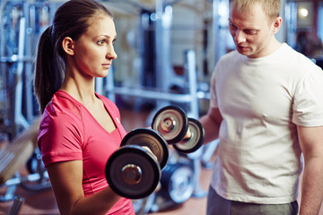 Training with barbells