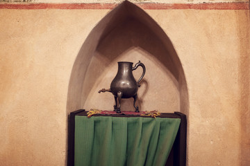 Chamber in greatest Gothic castle in Europe - Malbork
