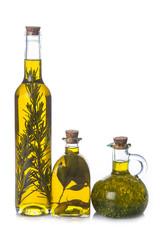 Aceite de oliva con hierbas y especias para la cocina