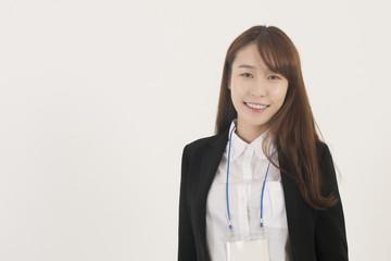Beautiful young asian businesswoman