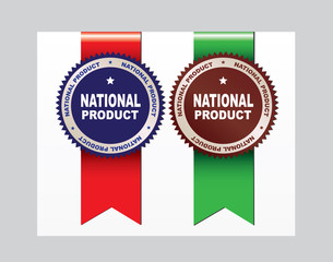 National product - labels