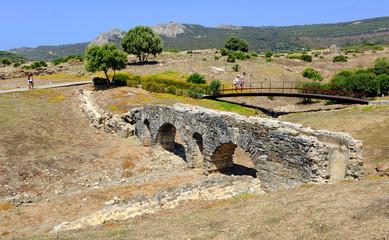 Roman aqueduct, Baelo Claudia, Tarifa, Spain
