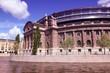 Stockholm parliament - capital city of Sweden