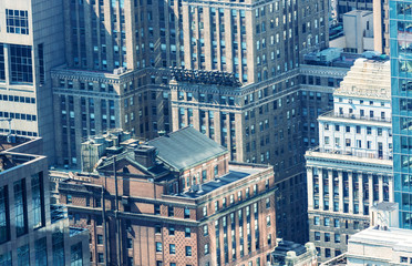 Old buildings of New york