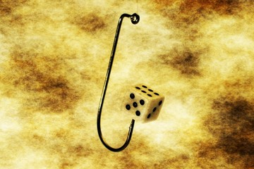 Dice on hook