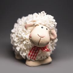 Sheep the symbol 2015 year