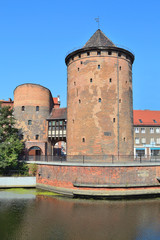Old tower in Gdansk