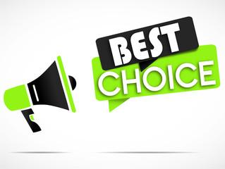 megaphone : best choice