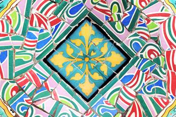 Mosaic Decorative Background
