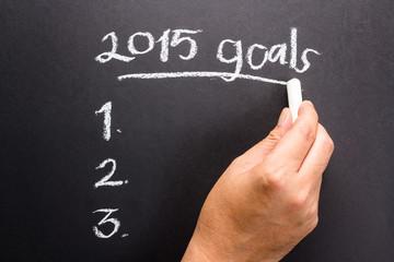2015 Goal plan