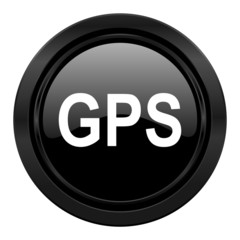 gps black icon