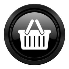 cart black icon shopping cart symbol