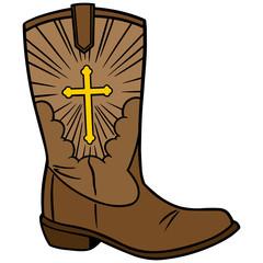 Cowboy Church Icon