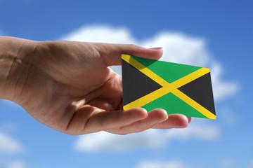 Small Jamaican flag