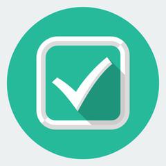 Vector check mark icon