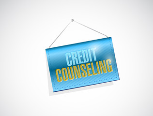 credit counseling hanging banner