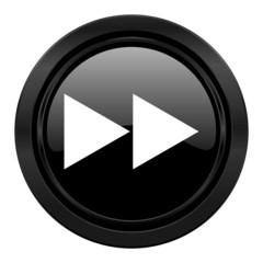 rewind black icon