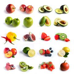 Fresh fruit set