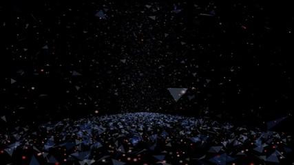 Starry sky. Background. Chaos. Star. Night. The night sky.