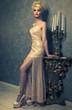 canvas print picture - elegant woman