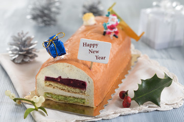 Buche happy new year
