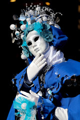 Japanese mask at the Carnival of Venice
