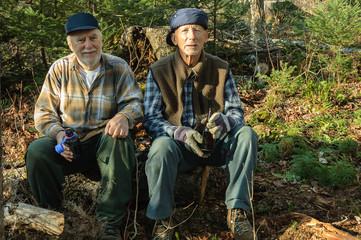 seniors at Fall hunter time