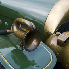 Close up detail car