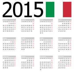 Calendario 2015 Black