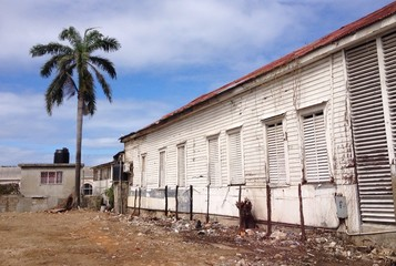old building in dominicana