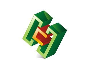 H Letter Logo Template v.2
