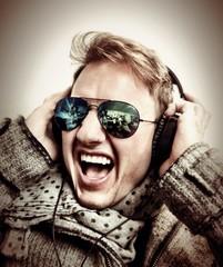 Listening to music!!!m