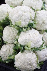 Fresh Cauliflower - city center local market