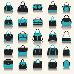 collection with Women handbags