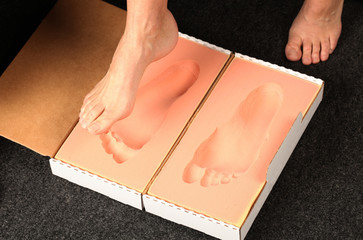 foot measerment for orthotics