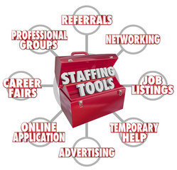 Staffing Tools Toolbox Recruiting New Employees Hiring Workers