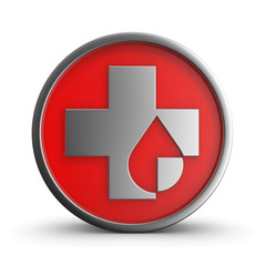 Medical cross icon.