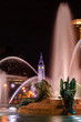 Swann Memorial Fountain at night - 75389127