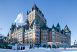 Chateau Frontenac in winter - 75389751
