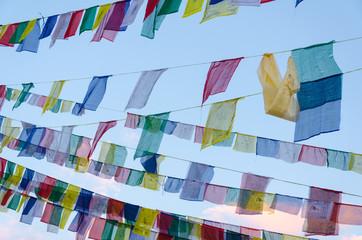Tibetan prayer flag, Nepal