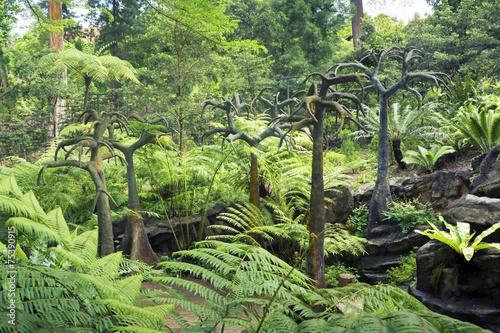 Fotobehang Singapore prehistoric landscape