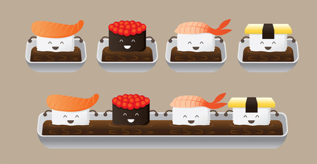 Sushi Character Bathing