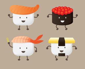 Sushi Character
