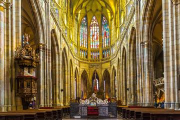 Altar St. Vitus Cathedral, Prague