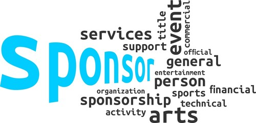 word cloud - sponsor