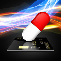 Paying for drugs with a credit card