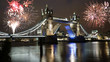 Fireworks over Tower Bridge - 75394929
