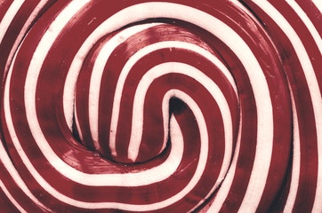 Retro Photo Of Lollipop Abstract Closeup