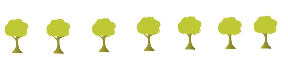sept arbres
